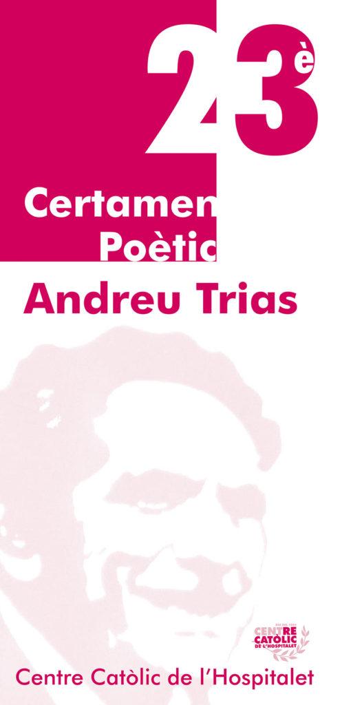 23 edicio certamen poetic andreu trias