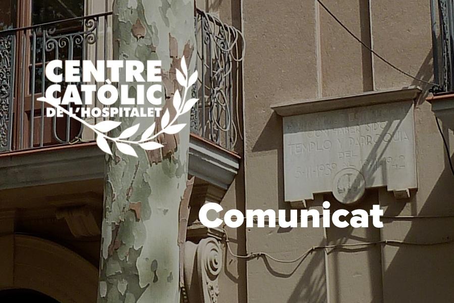 Comunicat assemblea extraordinaria Centre Catòlic Octubre 2021